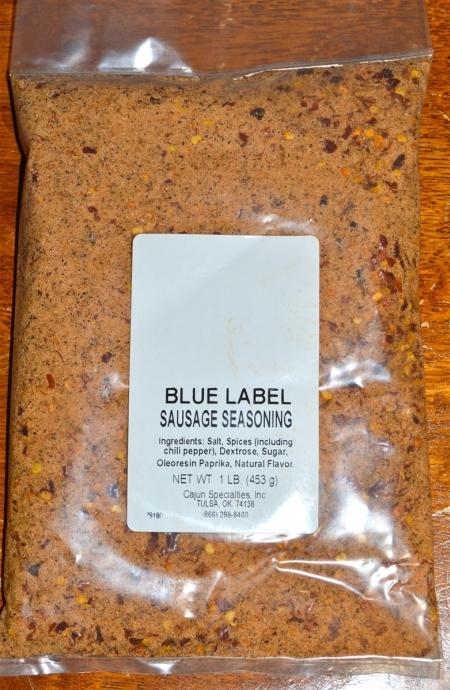 Blue Label Breakfest Sausage Seasoning