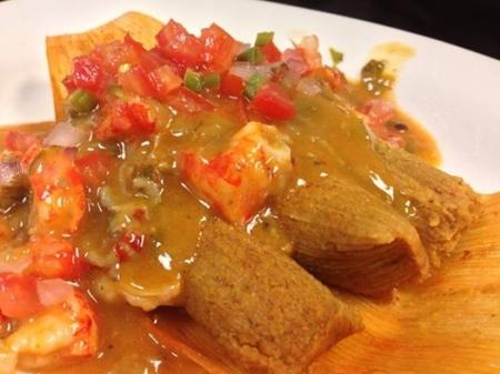Crawfish Hot Tamales