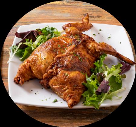 Boneless Stuffed Chicken (your choice of stuffing!)