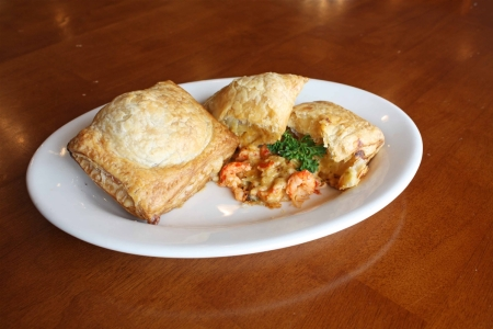 Meat or Seafood Pie