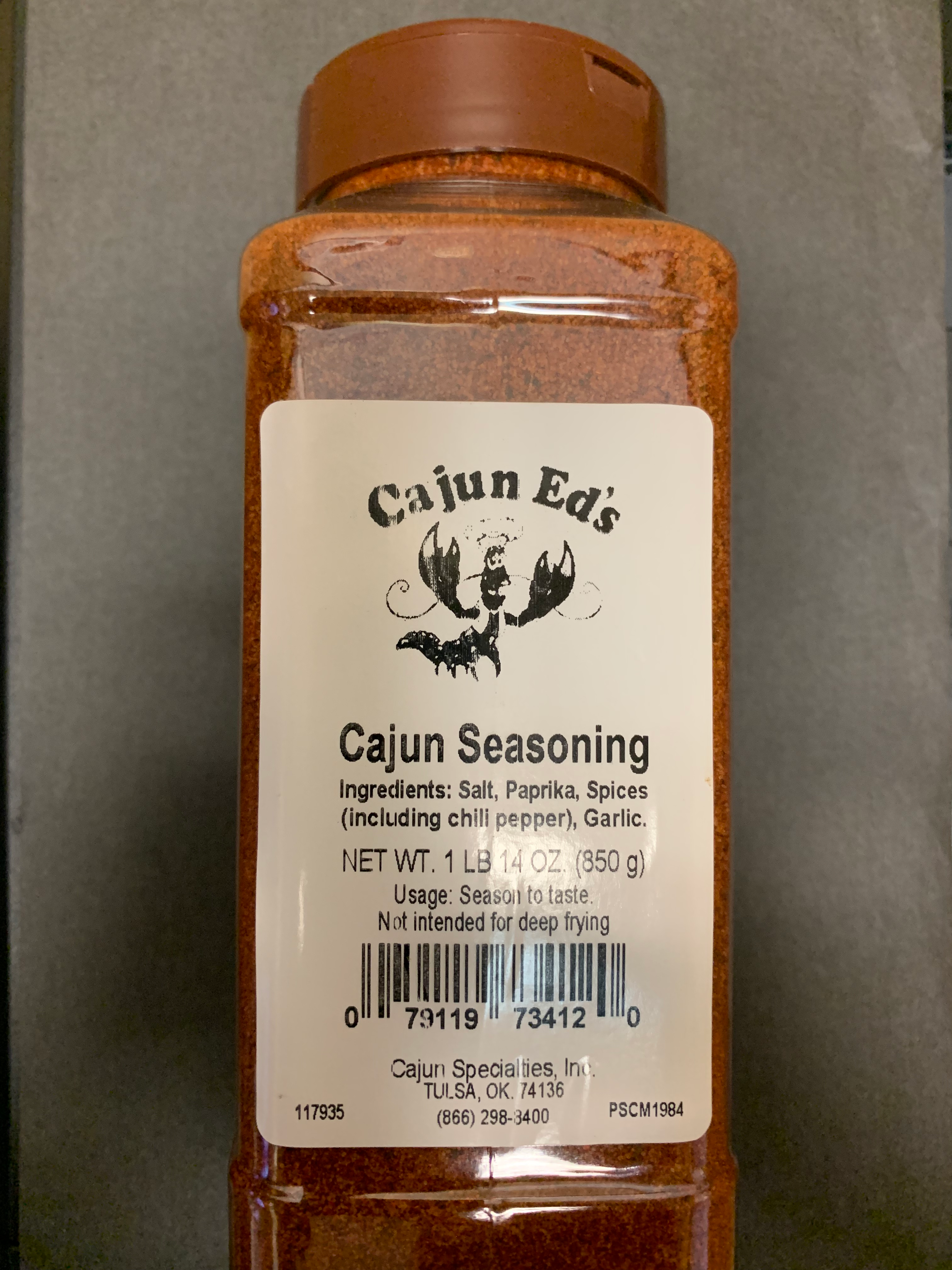 Cajun Ed's Cajun Seasoning 30oz